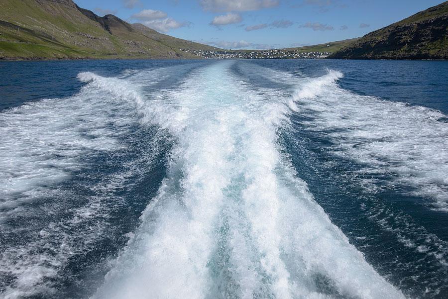 ferry mykines