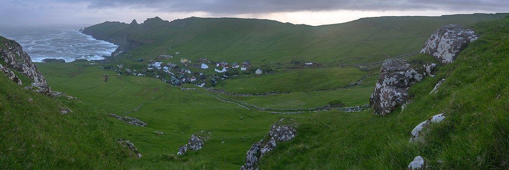 mykines bygd , village
