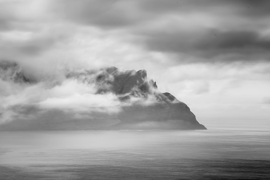 falaises de Vestmanna aux féroé