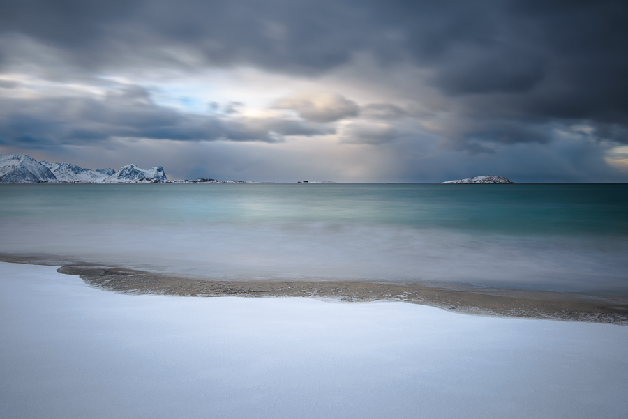 paysage de l'île de Senja pres de Tromso en Norvège